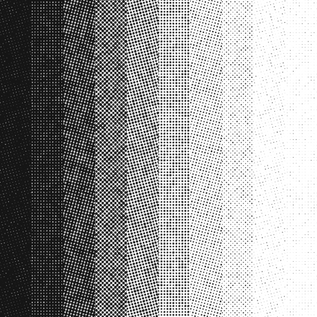 Smooth range of Halftone Tints