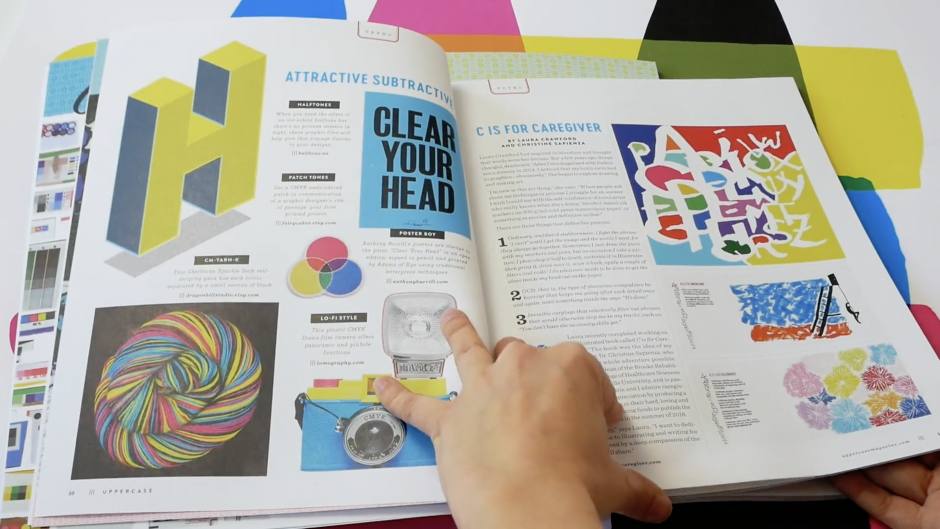 Halftone Tint Pack featured in Uppercase Magazine